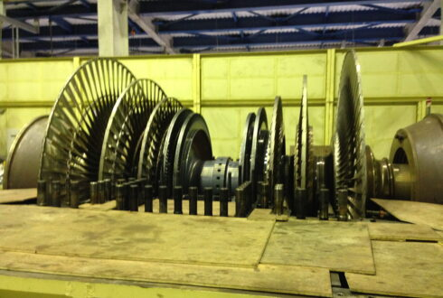 Inspection ST10 Rotor Deflection Curve of Ratburi Power Steam Turbine
