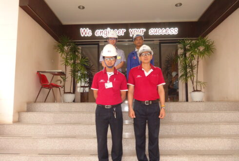 IHI & James Howden Thailand Company Limited had Visited West Coast Engineering Company Limited date on 21 July 2015.