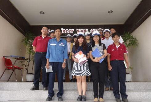 IHI ASIA PACIFIC (THAILAND)CO.,LTD เข้าเยี่ยม บริษัท เวสท์โคสท์ เอ็นจิเนียริ่ง จำกัด เมื่อวันที่ 25 กันยายน 2558
