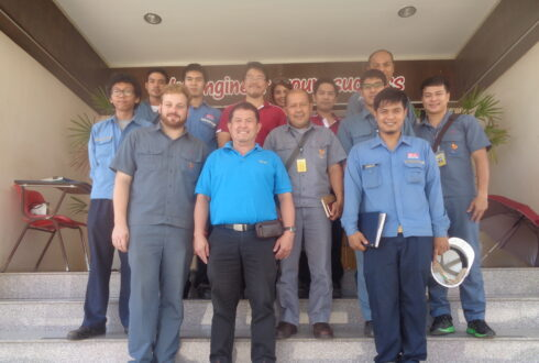 EGAT -Ratchaprapha Dam had Visited West Coast Engineering Company Limited date on 22 Oct 2015.
