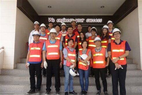 Krungthai Bank PLC & Siam Commercial Bank PLC เข้าเยี่ยม บริษัท เวสท์โคสท์ เอ็นจิเนียริ่ง จำกัด เมื่อวันที่ 24 กุมภาพันธ์ 2559