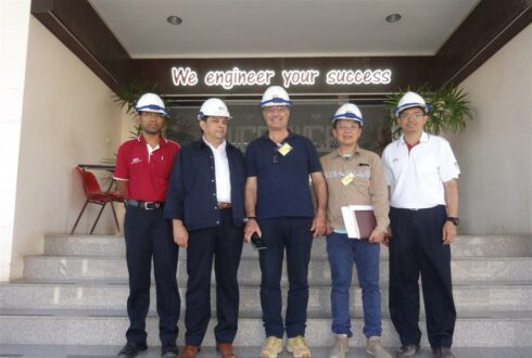 C.M. Bernardini S.r.l. had Visited West Coast Engineering Company Limited date on 17 Mar 2016
