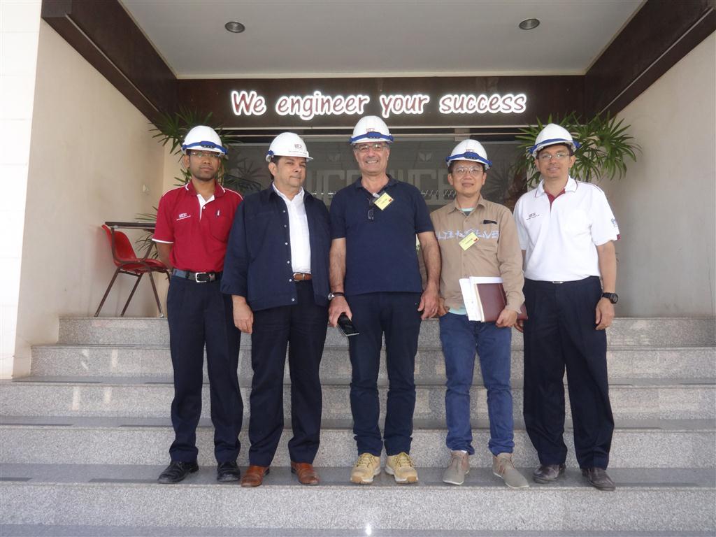 C.M. Bernardini S.r.l. had Visited West Coast Engineering Company Limited date on 17 Mar 2016