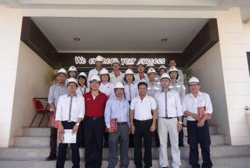 DANIELI CO LTD. had Visited West Coast Engineering Company Limited date on 30 Oct 2015.